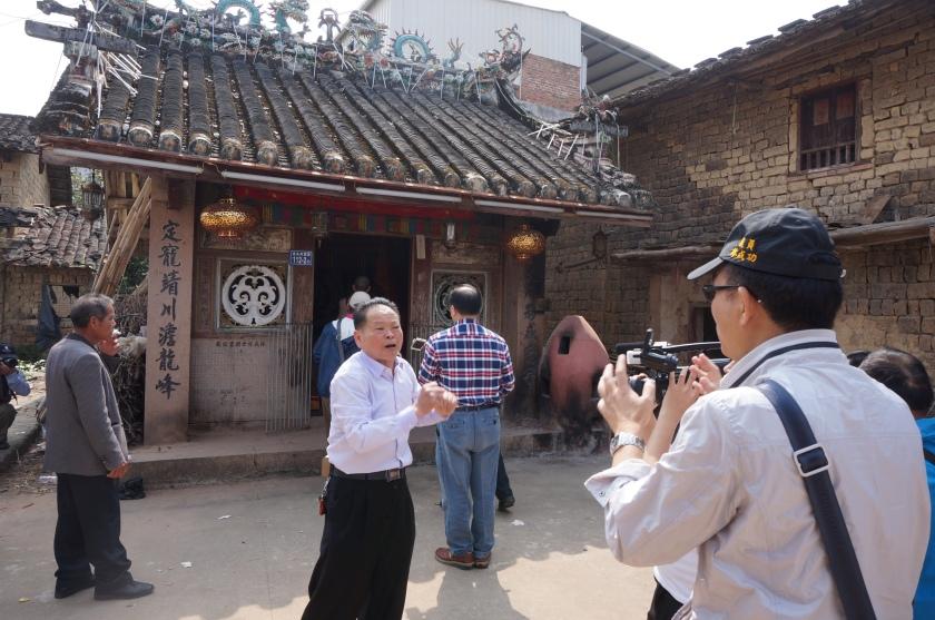 龍峰頭的舊廟