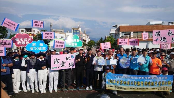 臺東海濱淨灘 志工用回收米袋清出6百公斤海廢物