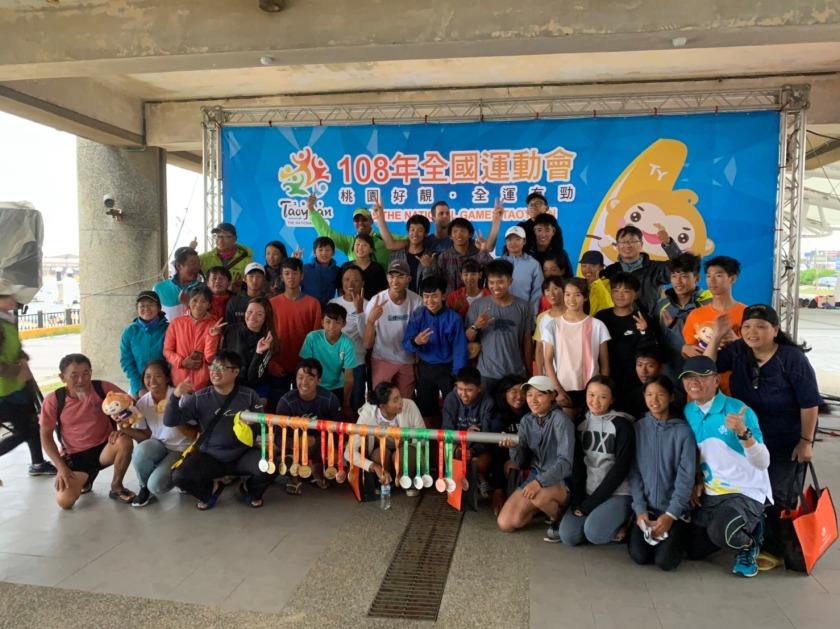 1081024-宜蘭縣代表隊帆船項目勇奪7金5銀3銅,成績表現卓越